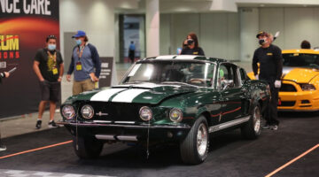1967 Shelby GT500 Fastback top result in Mecum Las Vegas 2020 Sale