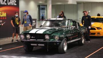 1967 Shelby GT500 Fastback top result in Mecum Las Vegas 2020 Sale