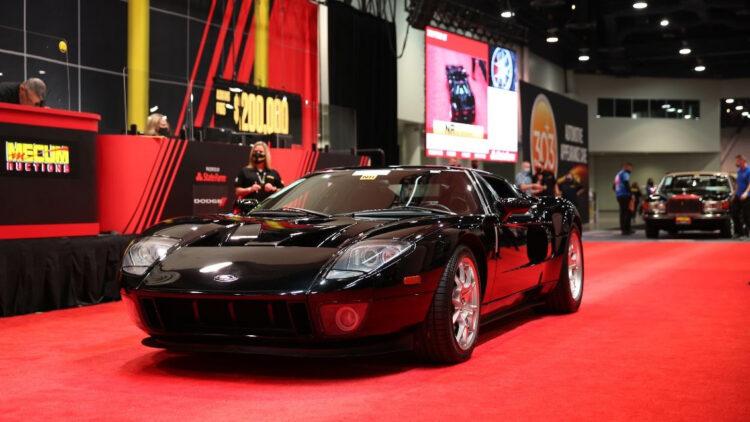2006 Ford GT second highest result in the Mecum Las Vegas sale November 2020