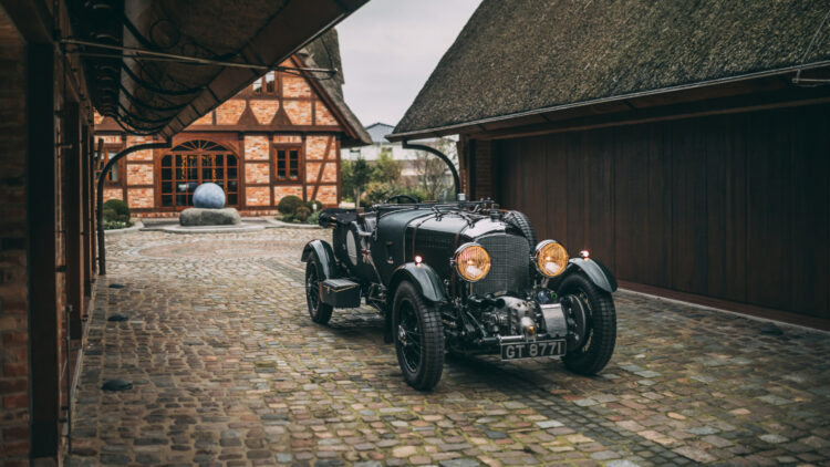1931 Bentley 4½-Litre Supercharged Tourer front