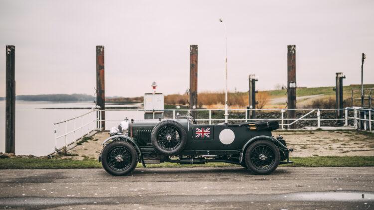 Side Profile 1931 Bentley 4½-Litre Supercharged Tourer