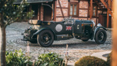 1931 Bentley 4½-Litre Supercharged Tourer on offer at RM Sotheby's Paris 2021 sale