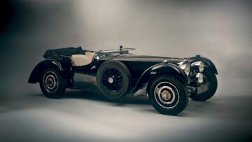 1937 Bugatti Type 57S with Grand Routier coachwork by Corsa at the London Bonhams 2021 Sale