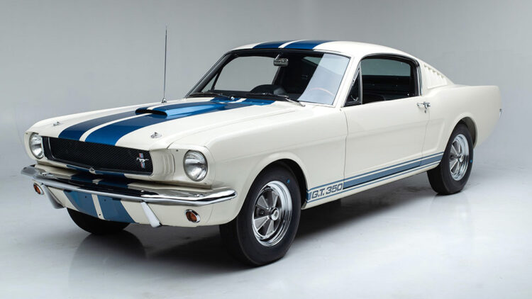 1965 Shelby GT350 on offer at Auction: Barrett-Jackson Scottsdale 2021