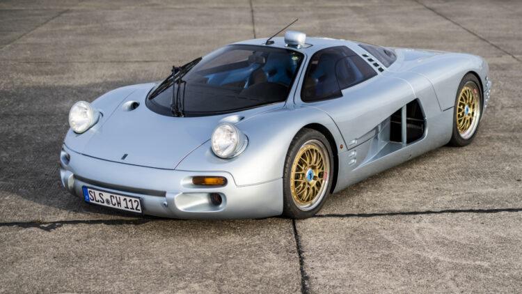 1993 Isdera Commendatore 112i at RM Sotheby's Paris 2021 Auction
