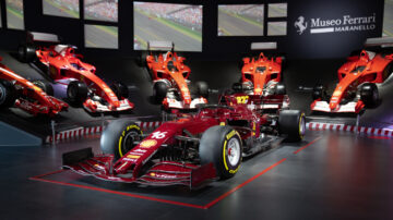 Ferrari SF1000 Show Car sold in the RM Sotheby's Online-Only Once in a Millennium sale 2020