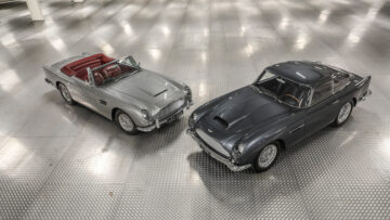 Aston Martins on offer at Gooding Geared Online European Sporting & Historic Collection, London, Feb 2021