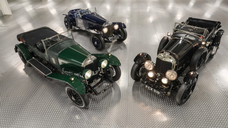 Classic Bentleys on offer at Gooding Geared Online European Sporting & Historic Collection, London, Feb 2021
