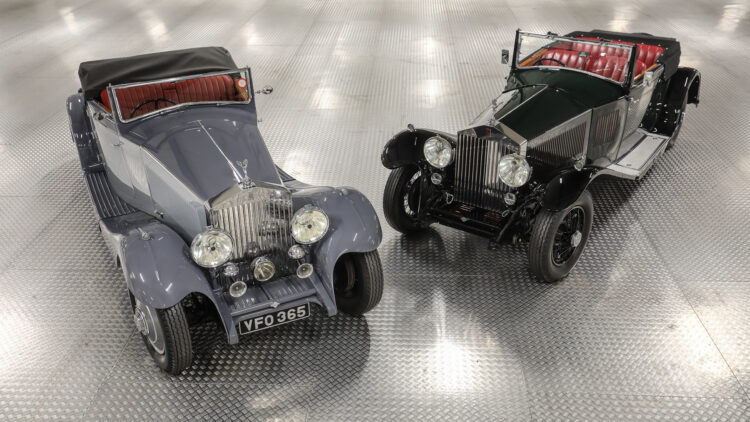 Rolls-Royces on offer at Gooding Geared Online European Sporting & Historic Collection, London, Feb 2021