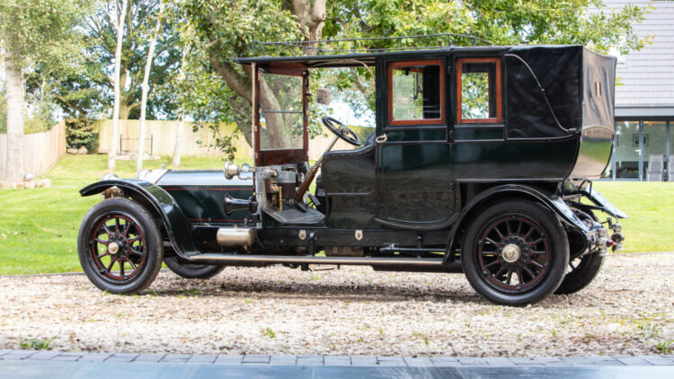 1909 Rolls-Royce Silver Ghost on sale in the Bonhams Amelia Island 2021 classic car auction