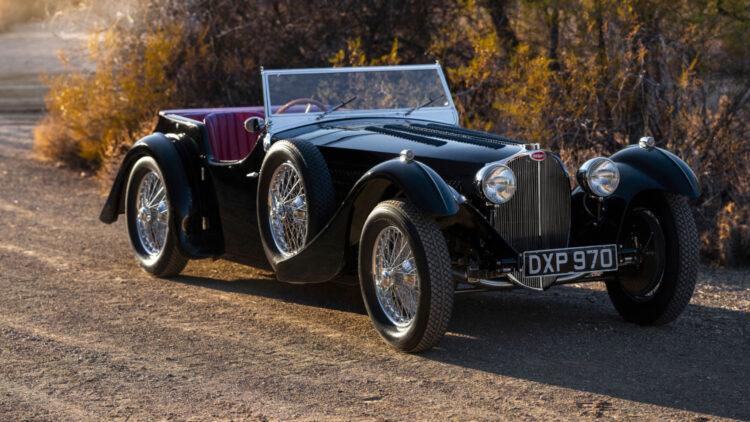 1937 Bugatti Type 57SC Tourer by Corsica three quarter