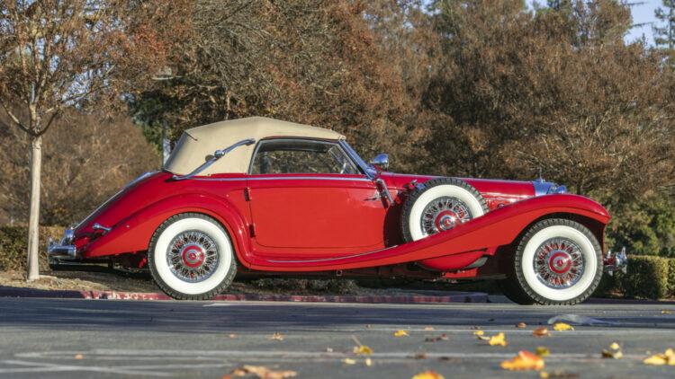 1939 Mercedes-Benz 540K Special Cabriolet A Profile on offer at Bonhams Scottsdale Auction 2021