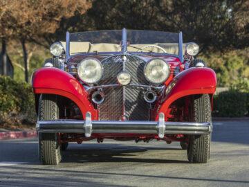 Front 1939 Mercedes-Benz 540K Special Cabriolet A on offer at Bonhams Scottsdale Auction 2021