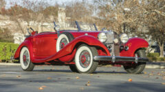 1939 Mercedes-Benz 540K Special Cabriolet A on offer at Bonhams Scottsdale Auction 2021