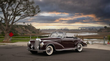 1956 Mercedes-Benz 300 Sc Roadster on offer at RM Sotheby's Scottsdale Arizona classic car auction 2021