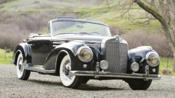 1956 Mercedes-Benz 300Sc Roadster on offer at Bonhams Scottsdale Auction 2021