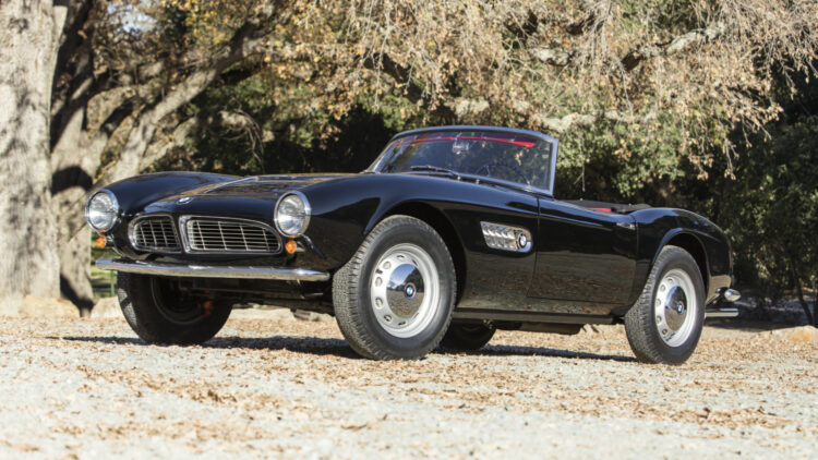 1959 BMW 507 Series II Roadster on offer at Bonhams Scottsdale Auction 2021