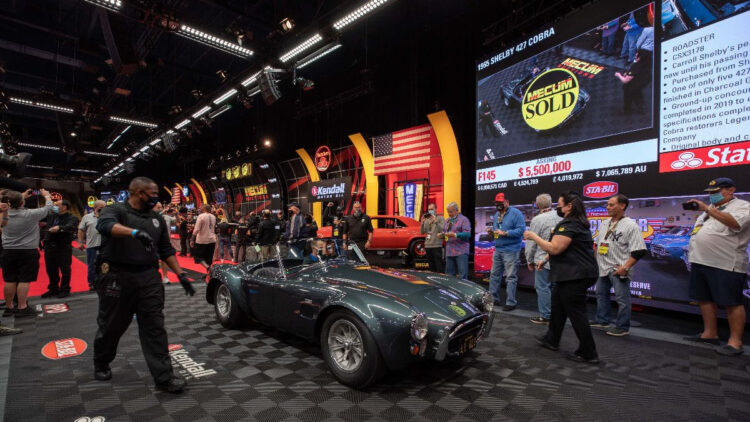1965 Shelby 427 Cobra Roadster Top Results at the Mecum Kissimmee 2021 sale