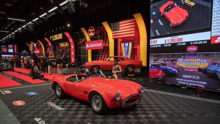 1967 Shelby 427 Cobra Roadster Top Results at the Mecum Kissimmee 2021 sale