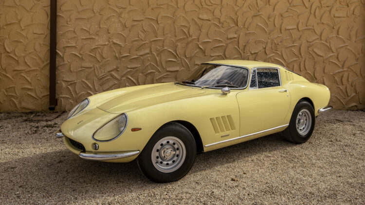 1968 Ferrari 275 GTB/4 by Scaglietti on sale at RM Sotheby's Amelia Island 2021 auction