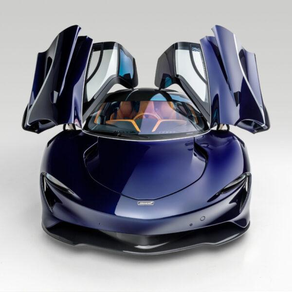 2020 McLaren Speedtail open doors