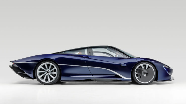 2020 McLaren Speedtail Profile