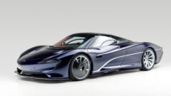 2020 McLaren Speedtail on offer in the RM Sotheby's Arizona Scottsdale 2021 auction