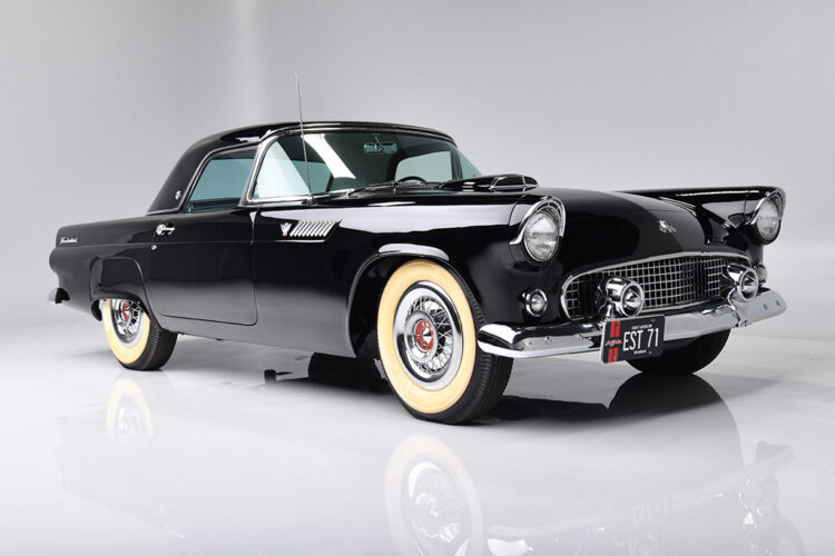 1955 Ford Thunderbird VIN 005 on offer at Barrett-Jackson Scottsdale Sale 2021