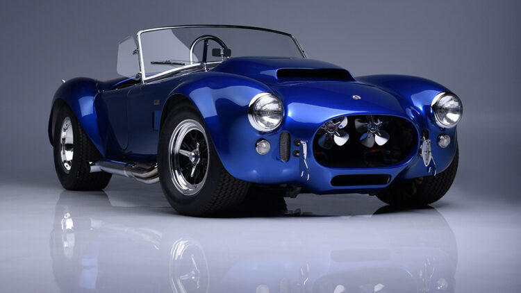 1966 Shelby Cobra 427 Super Snake CSX 3015 on offer at Barrett-Jackson Scottsdale Sale 2021