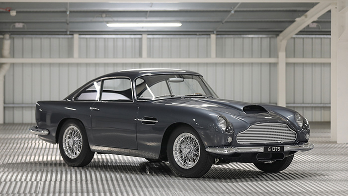 A 1961 Aston Martin DB4GT and a 1967 Ferrari 275 GTB/4 were the top results at the Gooding London based Geared-Online European sale in February 2021.