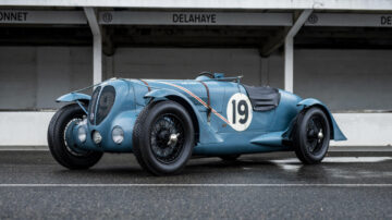 1936 Delahaye 135 S Compétition Court on sale in the Bonhams Monaco 2021 Classic Car Auction