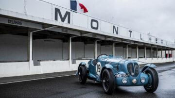 1936 Delahaye 135 S Compétition Court on sale in the Bonhams Monaco 2021 Classic Car Auction