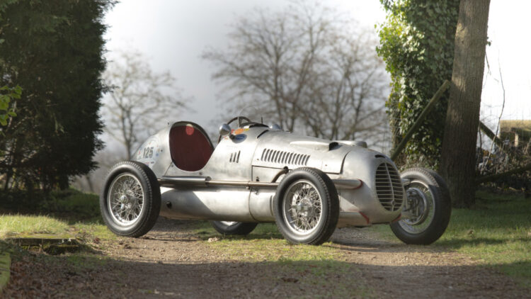 1947 Cisitalia D46 Monoposto on sale in the Bonhams Monaco 2021 Classic Car Auction