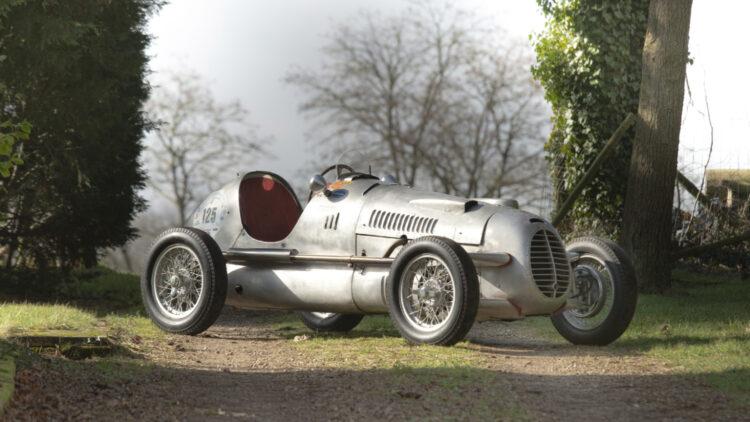 1947 Cisitalia D46 Monoposto on sale in the Bonhams Monaco 2021 Classic Car Auction