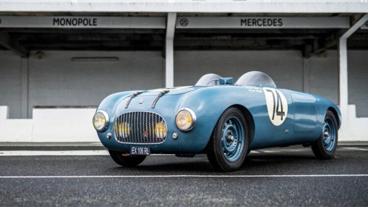 1949 Simca Deho Barquette on sale in the Bonhams Monaco 2021 Classic Car Auction