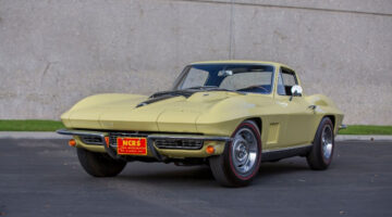 The top result at the Mecum Glendale 2021 sale was $2,695,000 paid for a yellow 1967 Chevrolet Corvette L88 Coupe