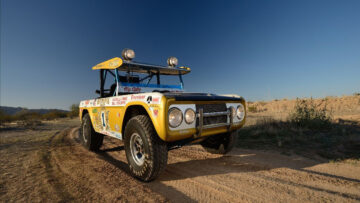 "1969 Ford Bronco Baja 1000 Racer -- ""Big Oly"" -- on sale in the Mecum Indianapolis 2021 Spring Auction"