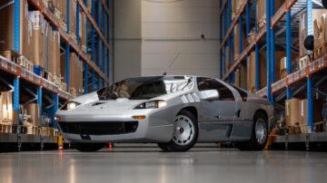 1991 Isdera Imperator 108i on sale in the Bonhams Monaco 2021 Classic Car Auction
