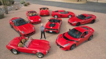 Ferraris on offer in the Mecum Glendale Arizona Sale 2021