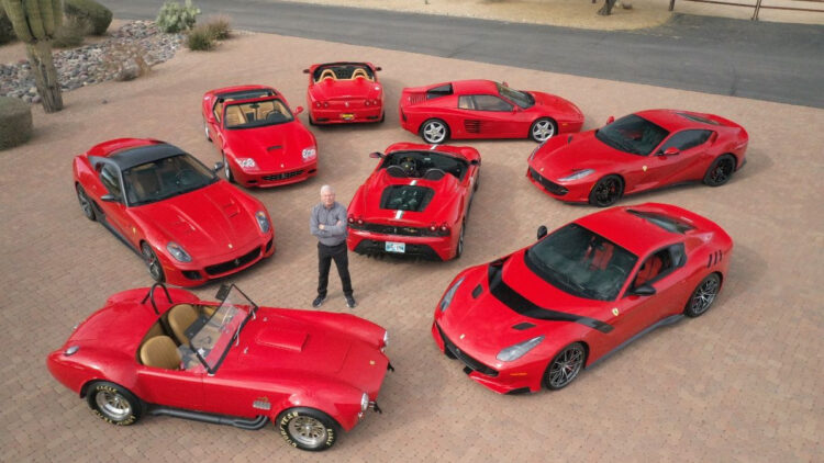 Ferraris on offer in the Mecum Glendale Arizona Sale 2021