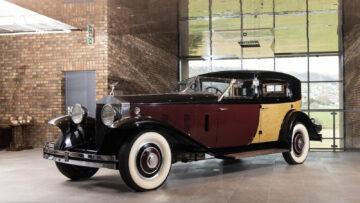 1933 Rolls-Royce Phantom II Special Brougham by Brewster, on offer at the 2021 RM Sotheby's Liechtenstein Rolls-Royce Sale