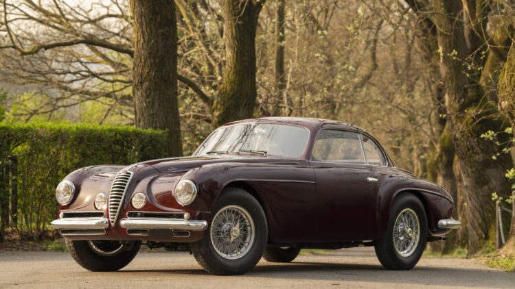 1951 Alfa Romeo 6C 2500 Super Sport 'Villa d'Este'. on offer in RM Sotheby's Milan 2021