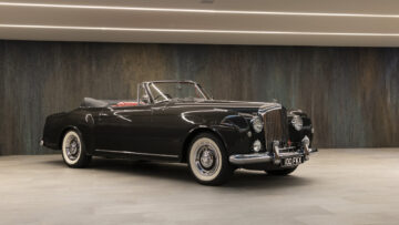 1958 Bentley S1 Continental Drophead Coupé by Park Ward 2021 RM Sotheby's Liechtenstein Rolls-Royce Sale