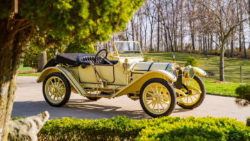 1913 Mercer Type 35 K Runabout on offer in the Bonhams Amelia Island 2021 classic car auction