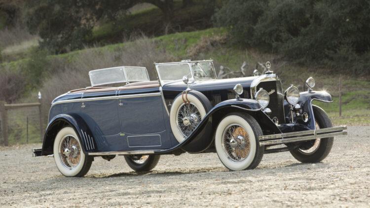 1928 Mercedes-Benz 630K 'La Baule' Torpedo on offer in the Bonhams Amelia Island 2021 classic car auction