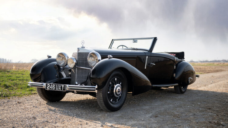 1935 Mercedes-Benz 500 K Roadster on offer in RM Sotheby's Amelia Island 2021 classic car auction