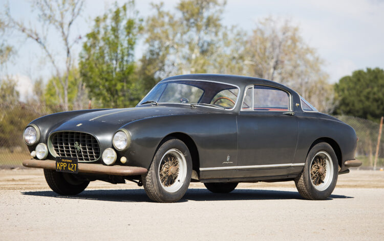1955 Ferrari 250 Europa GT sold at Gooding Geared Online May 2021 Auction