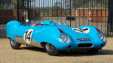 1957 Lotus Eleven on offer in the Gooding Geared Online UK June 2021 sale