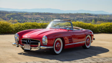 1958 Mercedes-Benz 300 SL Roadster on offer in RM Sotheby's Amelia Island 2021 classic car auction