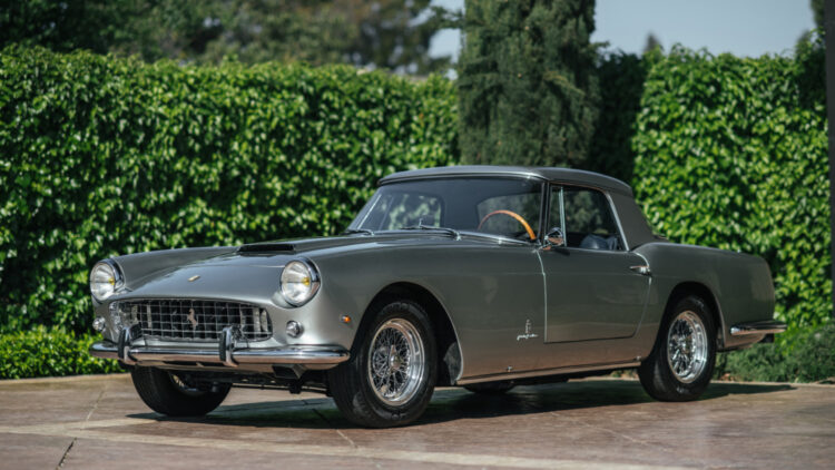 1961 Ferrari 250 GT Cabriolet Series II on offer in RM Sotheby's Amelia Island 2021 classic car auction